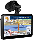 SAT NAV 7 Inches 8GB Capacitive Car navigation with Touchscreen include Preloaded UK and EU Maps with Lifetime Free Updates