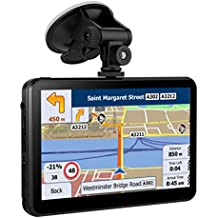 SAT NAV 7 Inches 8GB Capacitive Car Truck GPS navigation with Touchscreen include Preloaded UK & EU and Australia Maps with Lifetime Free Updates