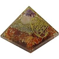 HARMONIZE Karneol Edelsteine ??Pyramide Blume des Lebens Symbol Orgon-Energie-Generator Reiki Kristall preisvergleich bei billige-tabletten.eu