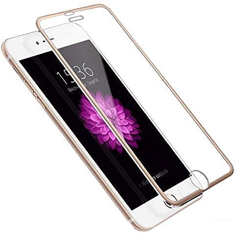 Iphone 6/6S Plus Alliage-Titane Bord Métallique Couverture Complète Protection Écran