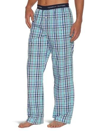 tommy hilfiger pantalon de pyjama homme bleu river. Black Bedroom Furniture Sets. Home Design Ideas