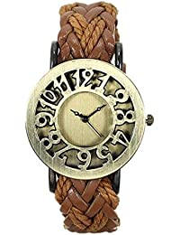 Capture Fashion Brown Analog watch