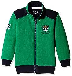 PalmTree Baby Boys Jacket (131090610521 1350_Green_12-18 months)