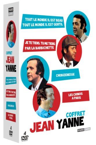 Coffret Jean Yanne - Tout le monde il est beau, tout le monde il est gentil + Les chinois à Paris + Chobizenesse + Je te tiens, tu me tiens par la barbichette
