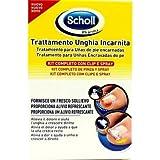 Scholl Linea Trattamento Unghia Incarnita Kit Completo Clip e Spray immagine