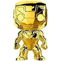 FunKo - Pop! : Marvel Studios 10: Iron Man (Chrome) (Bobblehead), Mehrfarbig, 33434