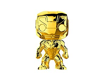 Funko 33434 POP Bobble Marvel Studios 10: Iron Man (Chrome), Multi
