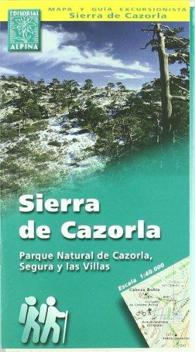 Sierra de Cazorla Wanderkarte 1 : 40 000: Parque Natural de Cazorla, Segura y las Villas (Parque Natural)