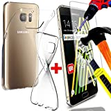 Access-Discount SAMSUNG GALAXY J3 2017 J320F VERRE DURCI + COQUE SILICONE ARRIERE INCASSABLE - HOUSSE ETUI DE PROTECTION
