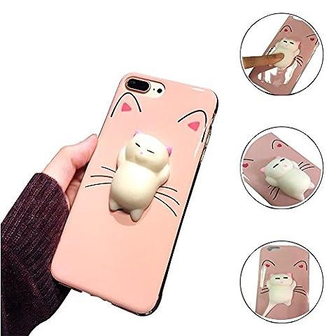 Coque iPhone 6/6S,Aliyao iPhone case Étui en plastique squishy 3D
