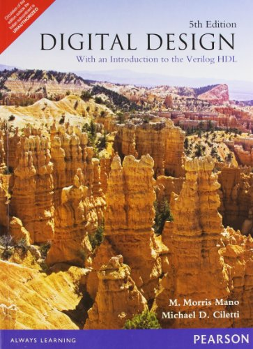 Digital Design: With an Introduction to Verilog HDL, 5e