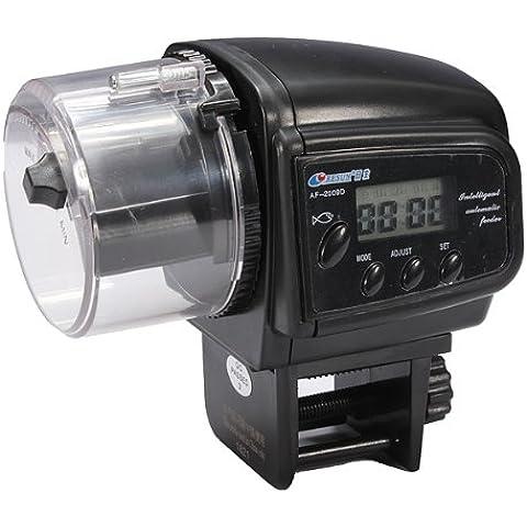 LCD temporizzatore automatico dei pesci del carro armato pesce alimentatore automatico - 8 Carro Armato Di Pesci