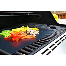 Set di 3 Barbecue Grill/ tappetini Tappeti di grigliatura per