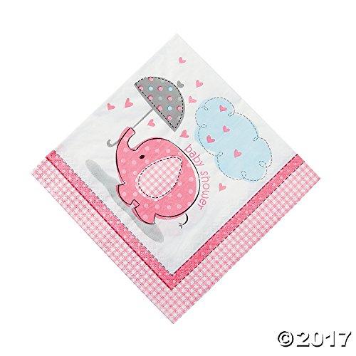 Luncheon Napkins - Pack of 16 (Baby-dusche Themen Elefanten)