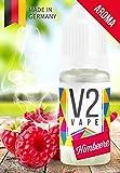 V2 Vape Himbeere AROMA/KONZENTRAT hochdosiertes Premium Lebensmittel-Aroma zum selber mischen von E-Liquid/Liquid-Base für E-Zigarette und E-Shisha 10ml 0mg nikotinfrei