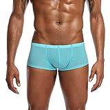 Hunpta@ Underwear, Herren Männer Einfarbig Unterwäsche Boxer Briefs Shorts Beutel Ultradünne Unterhose