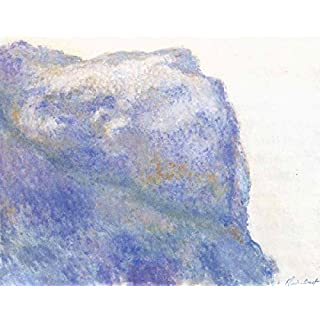 On the Cliff at Le Petit Ailly,Claude Monet,50x40cm