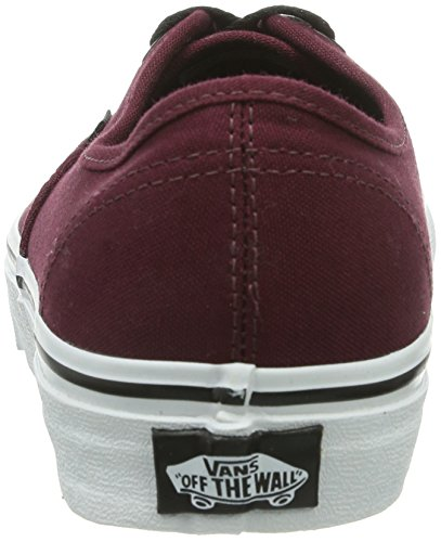 Vans Authentic, Sneaker Unisex – Adulto Rosso (Port Royale/Black)