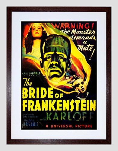FILM BRIDE FRANKENSTEIN BORIS KARLOFF MONSTER HORROR WHALE ART PRINT B12X12142 (Boris Frankenstein)