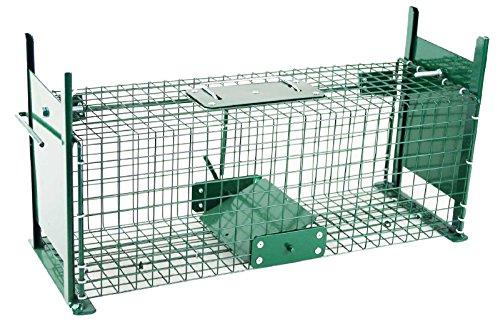 SIDCO Lebendfalle Rattenfalle Marderfalle Kaninchenfalle Iltisfalle Tier Köder Falle