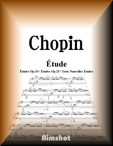 Chopin Etudes for Piano Solo (Japanese Edition)