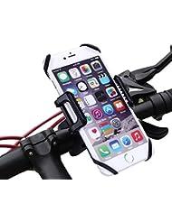 Handyhalterung Fahrrad Kasos Handyhalter Fahrrad Motorrad universal 360 Grad drehbarer Halter für Smartphone und GPS-Gerät