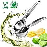 WisFox Presse-citron Manuel Extracteur de jus Presse-agrumes, Citron Orange Lime...