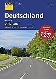 ADAC Reiseatlas Deutschland, Europa 2016/2017 1:200 000 (ADAC Atlanten)