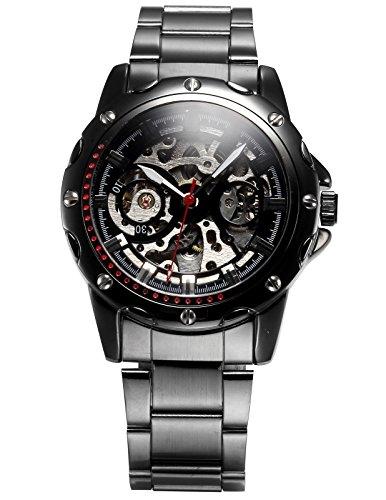 Ampm24 pmw207 - orologio da polso da uomo, cinturino in metallo colore argento