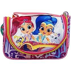 Shimmer and Shine Sparkle Beauty Case da Viaggio per Make Up per Ragazza Bambina Portatutto Idea Regalo