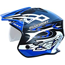 Wulf Vista Trials Helmet L Blue