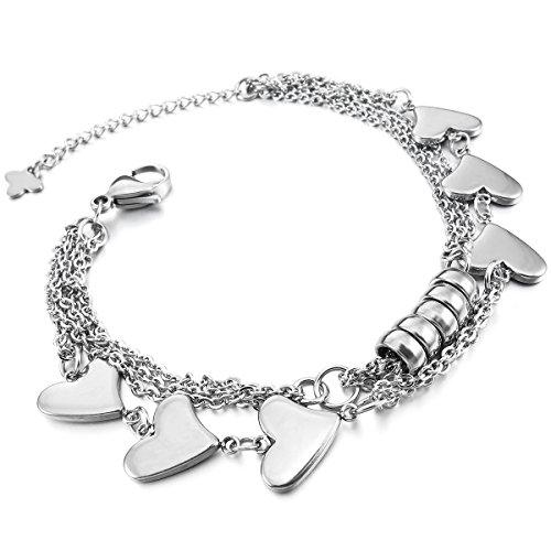 munkimix-acciaio-inossidabile-bracciale-braccialetto-collegamento-polso-argento-cuore-fascino-elegan