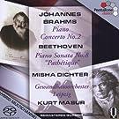 Brahms: Piano Concerto No. 2/ Beethoven: Piano Sonata No. 8, 'Pathetique' by Misha Dichter (2006-08-29)