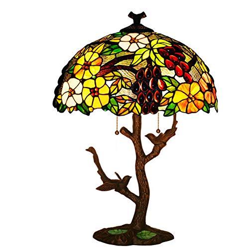 Tiffany-Stil Tischlampen, kreative Wohnzimmer dekorative Tischlampe, Büro, Studentenwohnheim, Esszimmer, Mädchen Zimmer Tisch Schreibtisch Licht