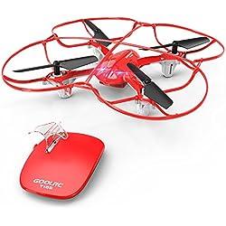 GoolRC T100 Drone RC 2.4GHz Control remoto Control de movimiento de una tecla Quadcopter Con función Flip 360 °