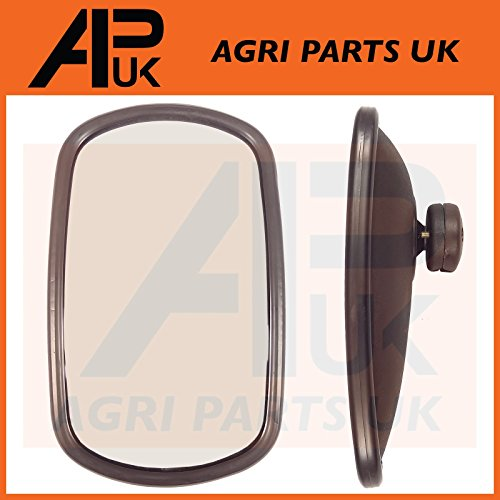 APUK Front Plastic Grill Grille without Lamp Holes Compatible withFord 4100 6600 7600 Tractor