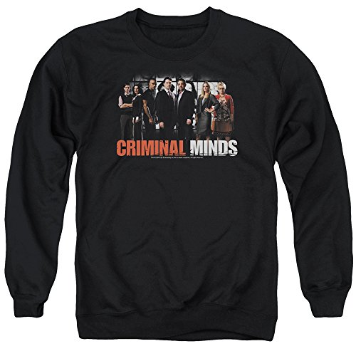 Criminal Minds TV Show CBS The Brain Trust Adult Crewneck Sweatshirt