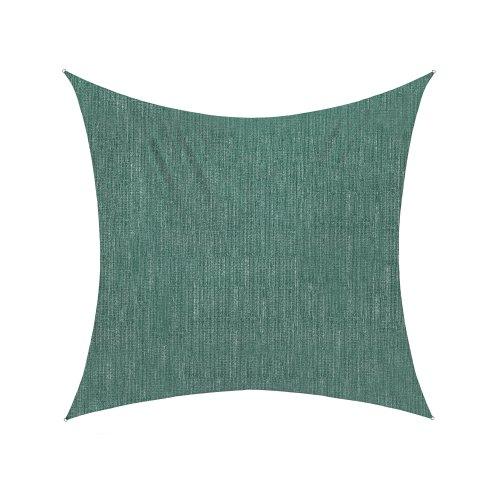 Jarolift Voile d'ombrage | Toile d'ombrage | Carré | Tissu respirant | 500 x 500 cm, vert
