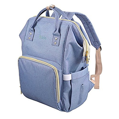 f6428d89b477 Multi-Functional High-Capacity Nappy Changing Backpack for Look Care Baby