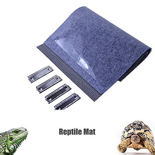 Bettwäsche-paket (Tfwadmx Terrarienuntergrund für Haustiere, 3-in-1-Funktion, wasserfest, für Eidechse, Schildkröten, Schlangen, Iguana-Zubehör und kleine Haustiere.)