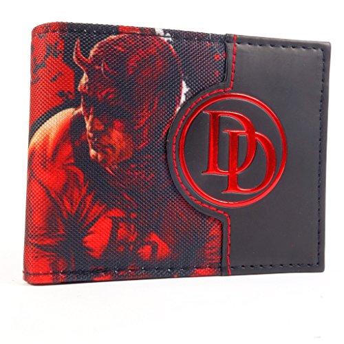 Marvel DareDevil Charakter Rot Portemonnaie (Daredevil Kostüme Und Elektra)
