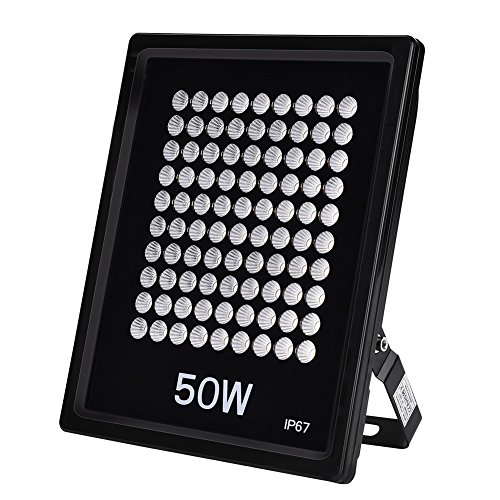 Reflector LED de 50W, reflector de luz de trabajo IP67 a prueba...