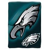 Northwest Offiziell Lizenziertes NFL, Überwurf, Decke, 50cm x 60cm, Herren, NFL068021011RET, Philadelphia Eagles, 60-Inch-by-80-Inch