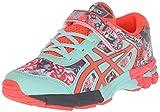 ASICS Gel-Noosa Tri 11 PS Running Shoe Little Kid, White/Diva Pink/Mint, 10 M US Litt...