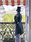 Posterlounge Forex-Platte 90 x 120 cm: Mann auf Einem Balkon von Gustave Caillebotte/Bridgeman Images