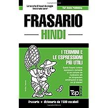 Frasario Italiano-Hindi e dizionario ridotto da 1500 vocaboli