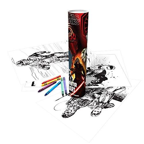 Star Wars Force Awakens Childrens/Kids Official Poster Art Colouring Tube