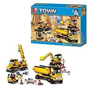 SLUBAN BRICKS, Town Equipo Ingeniería 474 pzs Juegos de construcción (AJ M38-B9700)