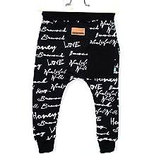 b0485153f64bf9 Amazon.it: pantaloni cavallo basso bambino - Nero