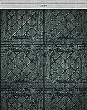 NEWROOM Holztapete Tapete Grün Vertäfelung Verkleidung Barock Vliestapete Grau Vlies moderne Design 3D Optik Barocktapete Struktur Premium inkl. Tapezier Ratgeber